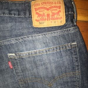 Levi's 569 loose denim pants jeans relaxed